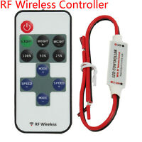 RF Wireless Controller Mini Dimmer for LED Single Color 3528 5050 Light Strip