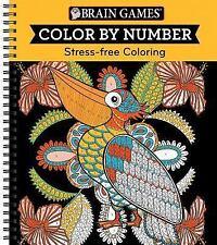 Color by Number Orange (2017, Spiral)