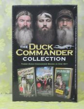 """NEW BOXED SET OF """"THE DUCK COMMANDER COLLECTION"""" 3 HC Books"""