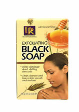 DAGGETT & RAMSDELL EXFOLIATING BLACK SOAP WITH OAT AND HONEY  3.5 OZ.