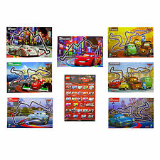 Disney Cars 2 Poster Kids Wall Art Pack Film Characters Racing Lego Pack of 8