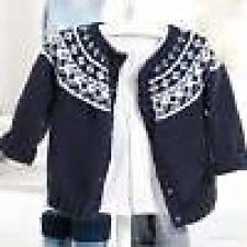 baby fairisle yoke cardigan knitting pattern 99p