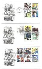 3185a-o Celebrate the Century 1930s on 3 ArtCraft FDCs