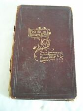 A Vintage Profits on returns Book From Lamson Paragon Supply Company -1900
