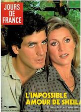 JOURS DE FRANCE , SHEILA , France Gall  July 21 , 1984