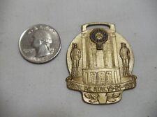 US American Legion Bronze Convention Medal York PA Aug 19-21 1937 Pin Ribbon Fob
