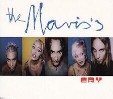 "THE MAVIS'S ""Cry"" 1997 3Trk CDSingle ""Thunder(Demo),Sandman"" *MattThomas"