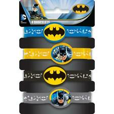 Batman Stretchy Bracelets, 4ct
