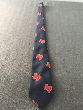 Texas Neck Tie The Lone Star State Men's Neck Tie Texas Red State Business Tie