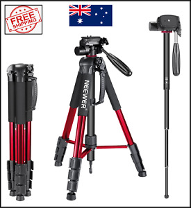 NEW Neewer Portable 70inch - 177cm Camera Tripod with 3-Way Swivel Pan Head