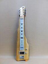 Haze SEG217 Electric LAP Steel Guitar Natural Poplar + Gig Bag + Tuner + Strings