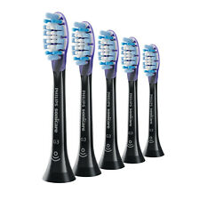 5x Philips Sonicare DiamondClean G3 Gum Care Brush Heads | Black | w/o Box