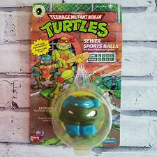 Teenage Mutant Ninja Turtles Sewer Sports Balls LEO 1991 Vintage Sealed Playmate