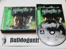 Syphon Filter 3 PS1 Game Complete Playstation 1
