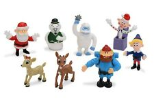 Rudolph The Red Nosed Reindeer 8 pc Figure Bumble Yukon Cornelius Hermey Clarice