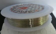 Roll Silver Colour Tiger Tail Beading Wire Cord Jewellery Necklace Making 0.3mm.