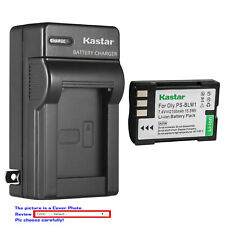 Kastar Battery Wall Charger for Olympus BLM-1 BLM-01 Camedia C-5060 Wide Zoom