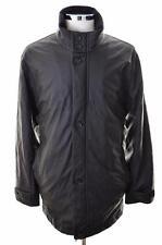 Daniel Hechter Mens Jacket Size 52 XL Black Polyester Polyurethane