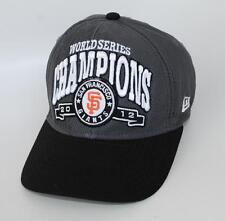 WORLD SERIES CHAMPIONS 2012 SAN FRANCISCO GIANTS CHILD Baseball Cap Hat New Era