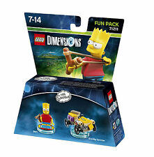Figurine LEGO Dimensions Krusty BART Les Simpsons FUN PACK 71211