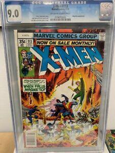 X-Men #113 CGC 9.0 VF/NM