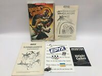 Vintage Video Game Commodore 64 Manuals Inserts Lot Flight Simulator NO GAME