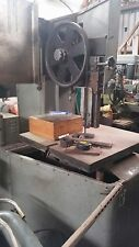Vertical Band Saw, metal cutting, with Welder, made here (NOT Chinese)