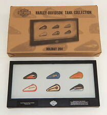 2014 Harley Davidson Holiday Collectible Limited Edition Tank Wall Decor R9574