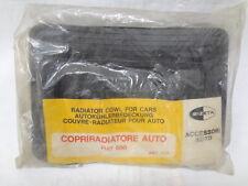 Mascherina invernale Copriradiatore radiator cover winter mask FIAT 500 nero bz
