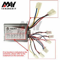 24//36//48V 500W Motor Brushed Speed Controller /& Throttle for E-Bike Scooter A2TD