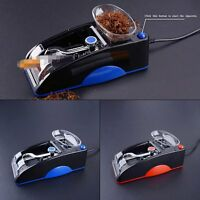 Blue Cigarette Rolling Machine Electric Automatic Injector Maker Tobacco Roller