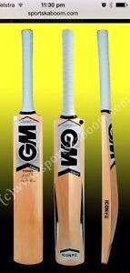 GM Icon Premier Kashmir Willow Cricket Bat (Indoor), Free Ship & Extras