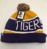 Brand New Louisiana State Tigers LSU Knit Pom Winter Hat Cap Beanie 47 Brand