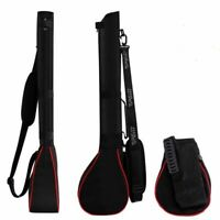 Golf Carry Pencil Bag Sunday Flight Cover Folding Range Travel Lightweight Case