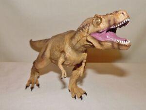 TYRANNOSAURUS REX  Soft Rubber dinosaur figure - by National Geographic - Rare