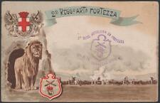 cartolina militare 2°REGGIMENTO ARTIGLIERI DA FORTEZZA