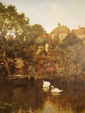 Old Guildford, Surrey by Edward Wilkins Waite Artwork by Selby Prints