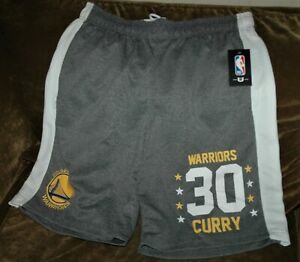 Golden State Warriors basketball shorts Stephen Curry men's XL New with tags