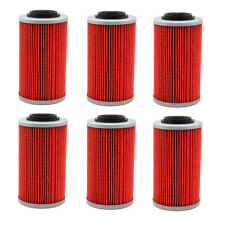 6X Oil Filters For APRILIA ETV1000 RSV 1000 MILLE TUONO CAN-AM SPYDER RT RS