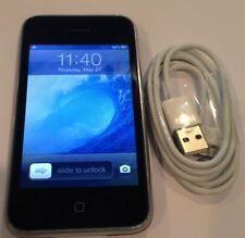 iPhone 3GS - 8GB - Black (Factory Unlocked) A1303 (GSM)