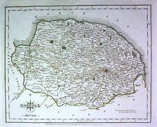 Antique map, Norfolk .