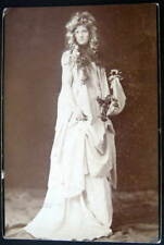 **1900's OPHELIA ~ Gertrude Elliott?  Victorian Photo