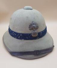 WW2 French France Army Infantry 1931 Model Sun Pith Helmet Gendarmerie