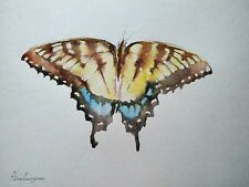 Butterfly, Animal,Insect,Watercolor artwork, Handmade,Original painting on paper
