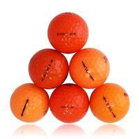 240 Premium Orange Mix Mint Used Golf Balls AAAAA *SALE!*
