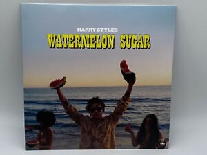 """HARRY STYLES - WATERMELON SUGAR RED 7"""" 45 RPM VINYL RECORD 2020 NEW & SEALED"""