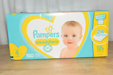 Pampers Swaddlers Soft and Absorbent Diapers, Size 4, 150 Ct