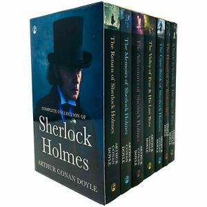 Sherlock Holmes Series Complete Collection 7 Books Set by Arthur Conan Doyle NEW
