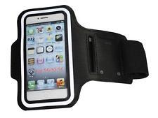 Sport Jogging Armband Schutzhülle für Apple iPhone 5 Tasche Case Hülle schwarz b