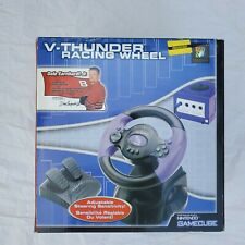 Brand New Nintendo Gamecube V-Thunder Racing Wheel Controller Dale Earnheart Jr